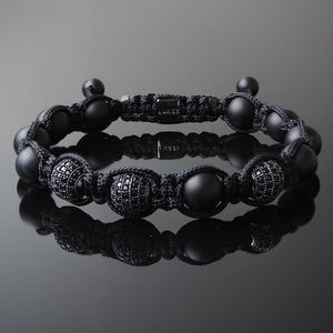 Black Diamonds - Shamballa Bracelet