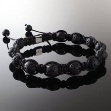 Load image into Gallery viewer, Lavastone - Shamballa Bracelet