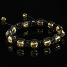Load image into Gallery viewer, Citrine Shamballa
