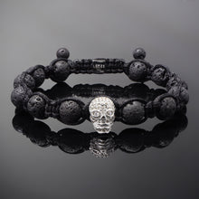 Load image into Gallery viewer, Revenant // Silver x Lava Bracelet