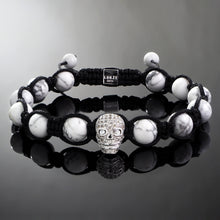 Load image into Gallery viewer, Revenant // Silver x Howlite Bracelet