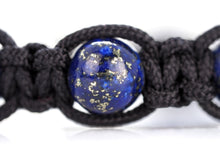 Load image into Gallery viewer, Lapis Lazuli Shamballa Bracelet