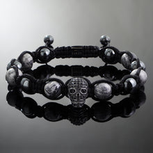 Load image into Gallery viewer, Revenant // Black x Metallic Jasper Bracelet