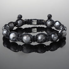 Load image into Gallery viewer, Larvikite - Shamballa Bracelet