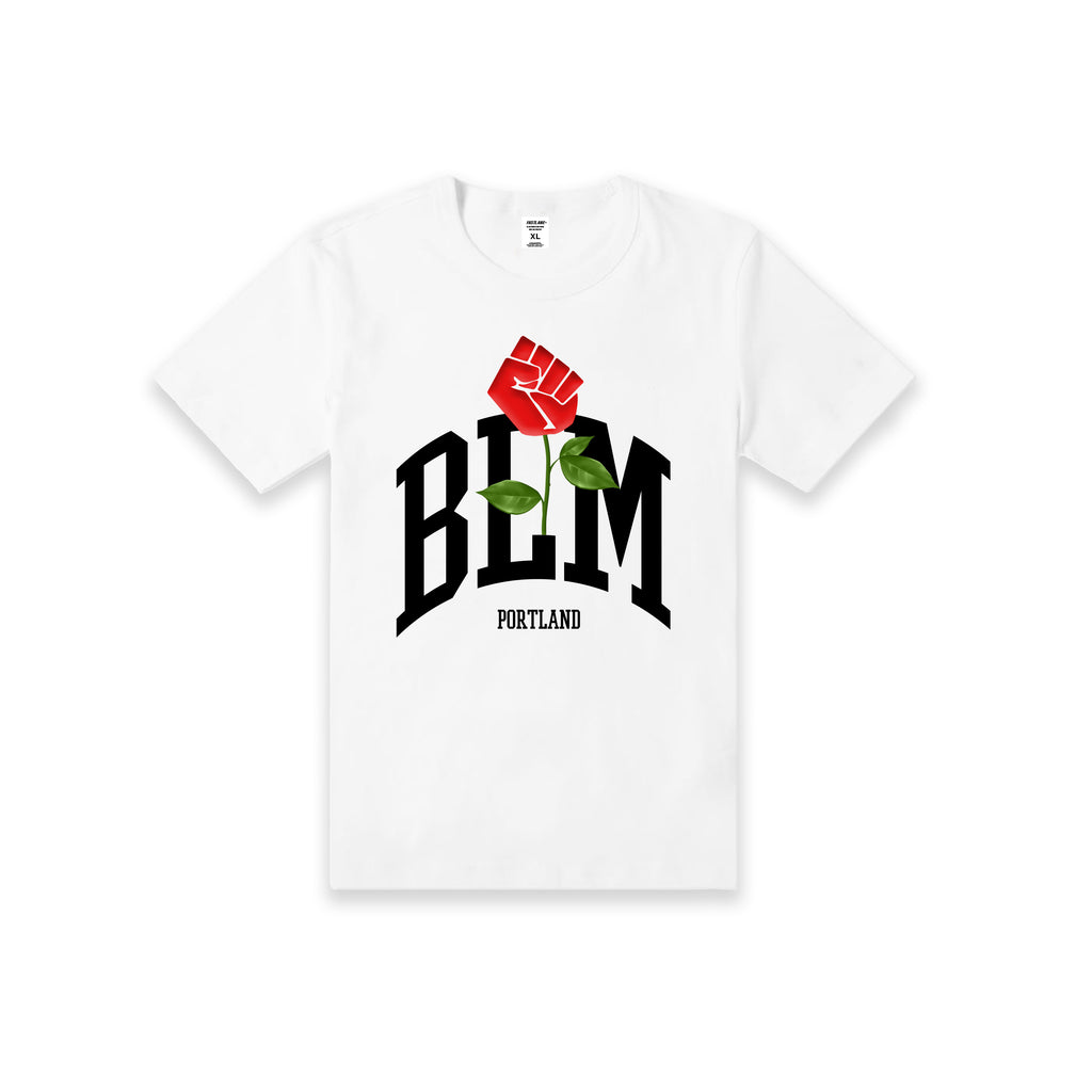 FASTLANE BLM PORTLAND T-SHIRT (YOUTH)(WHITE)