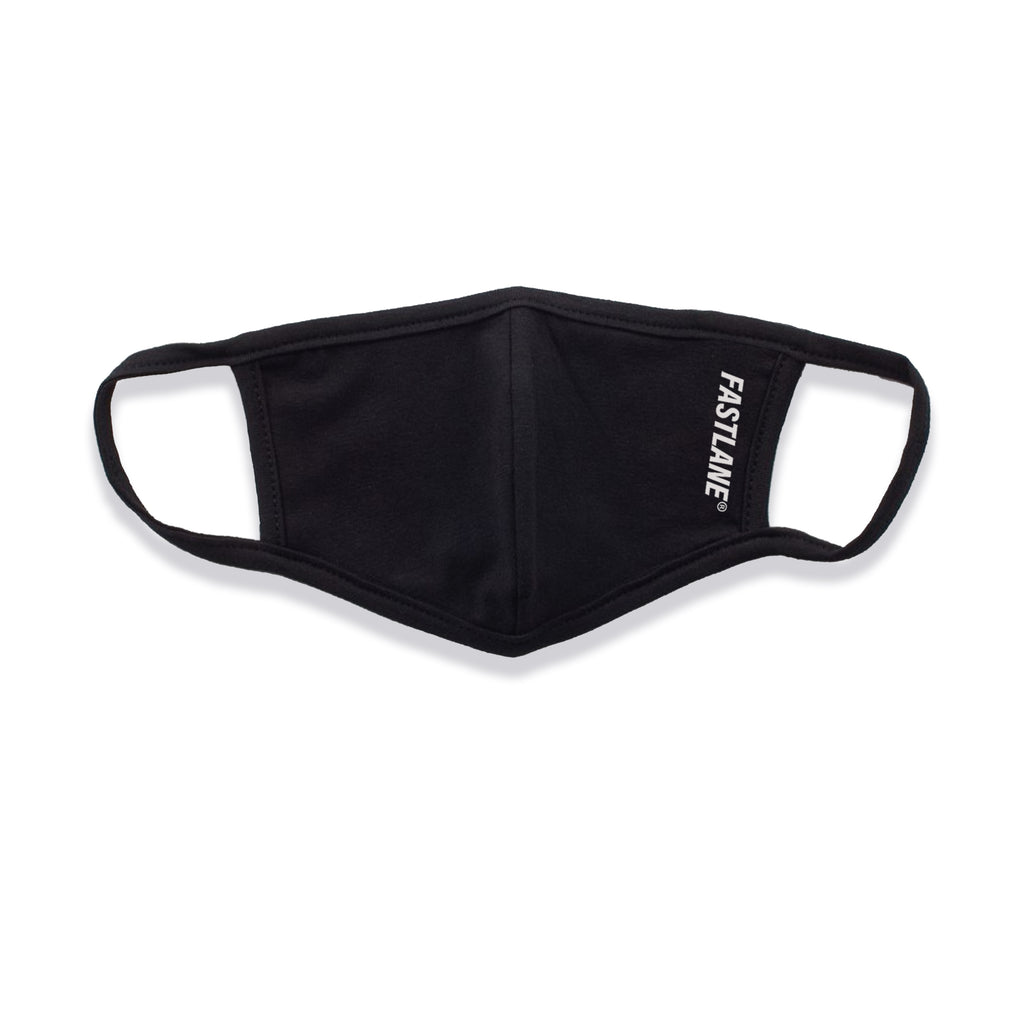 Fastlane Logo Face Mask (Black)