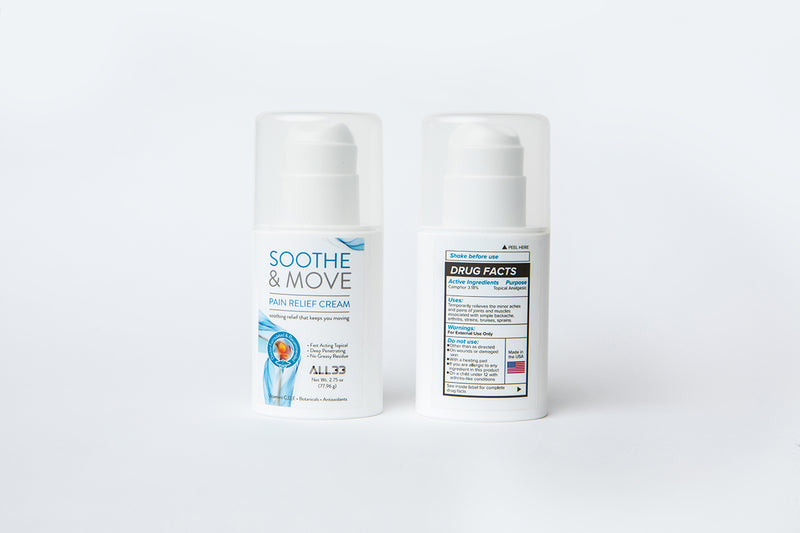 SOOTHE & MOVE <br>Pain Relief Cream