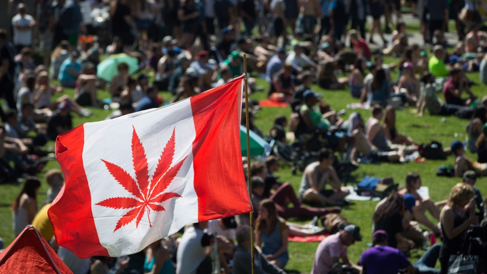 Rallying for the legalization of cannabis