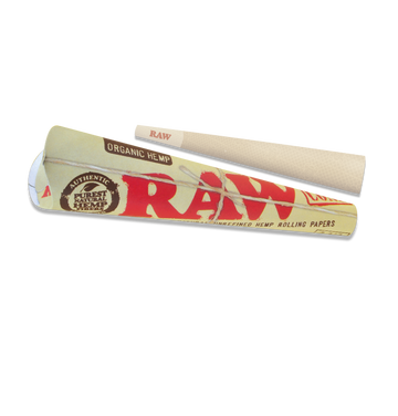 RAW Organic Pre-Rolled Cones