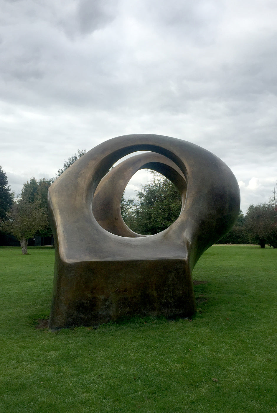 Henry Moore sculpture at the Henry Moore Foundation Studios and Gardens