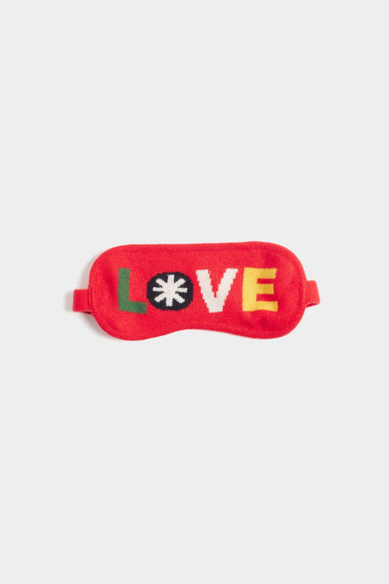 Red Love Eye Mask