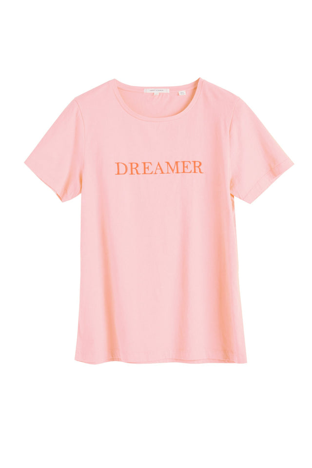 Pink Cotton Dreamer T-Shirt image 2