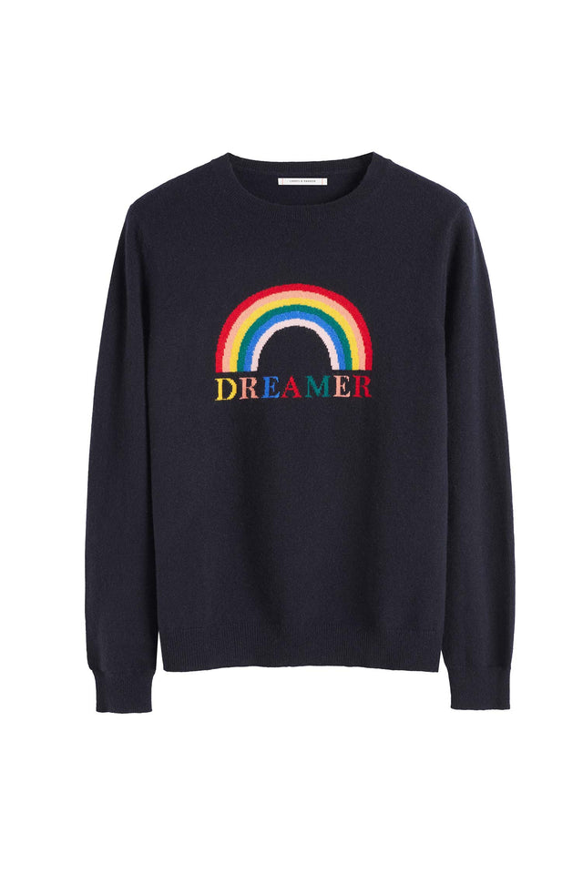 Navy Cashmere Dreamer Sweater image 2