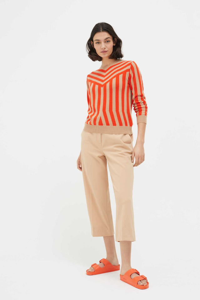 Biscotti Striped Cashmere Sweater image 2