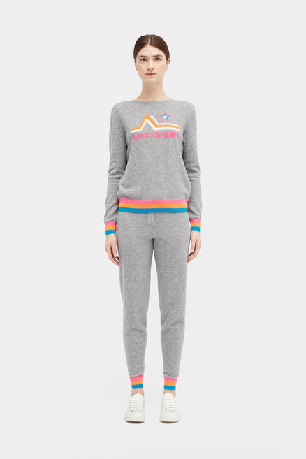 Grey Apres Ski Sweater