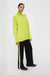 Lime Cashmere Roll Neck Sweater