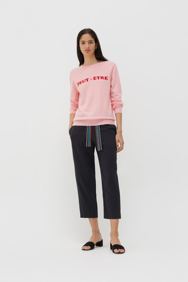 Pink Peut-Etre Cashmere Sweater image 2