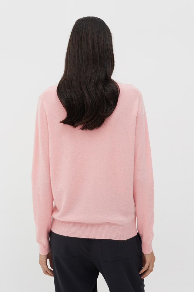 Pink Peut-Etre Cashmere Sweater image 4