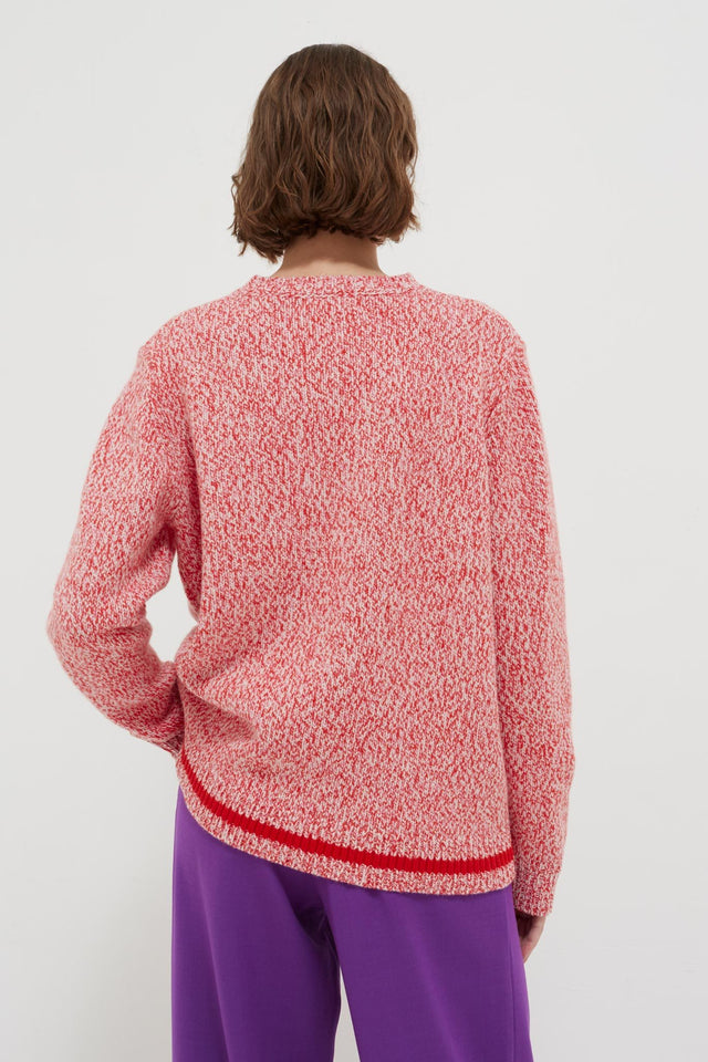 Pink Dalloway Love Merino Wool Sweater image 4