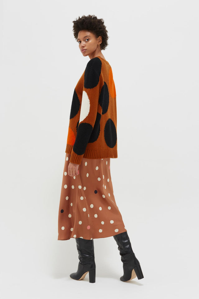 Ginger Dot Wool-Cashmere Sweater image 5