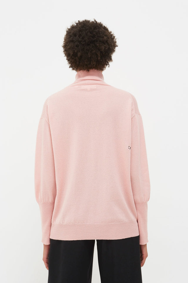 Pink Snoopy So? Cashmere Sweater image 5