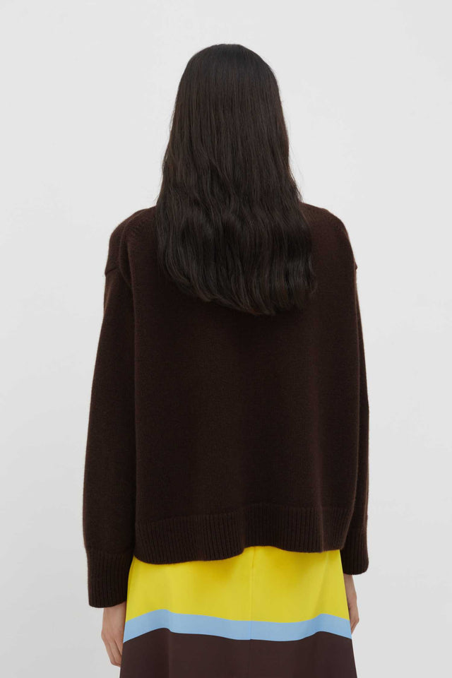 Chocolate The Premium Cashmere Sweater image 4