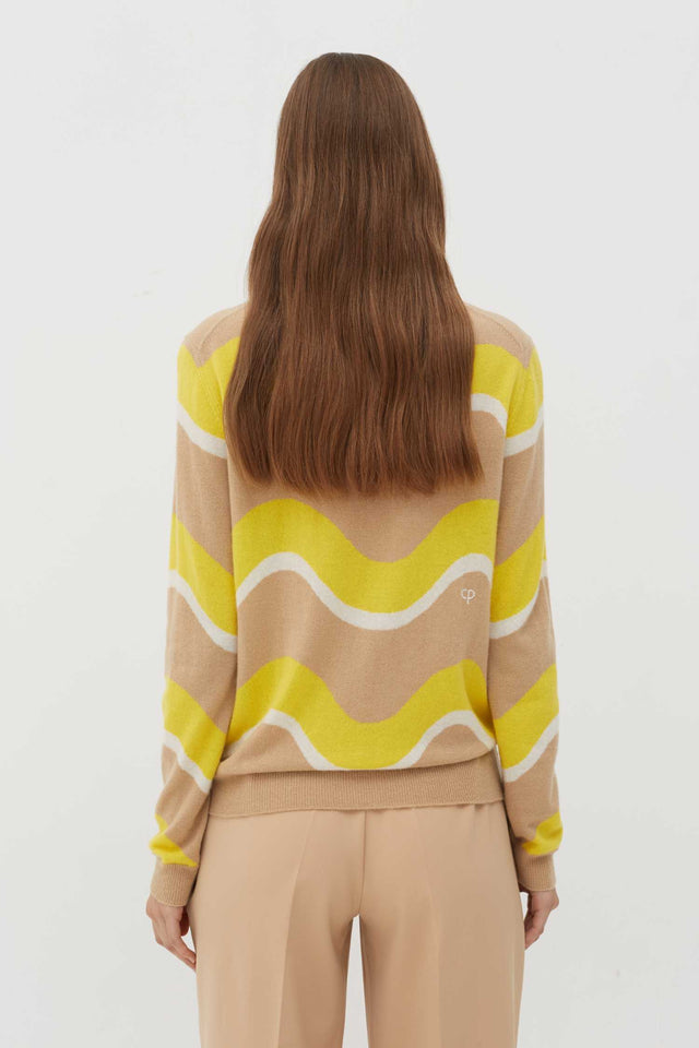 Biscotti Wave Cashmere Sweater image 5
