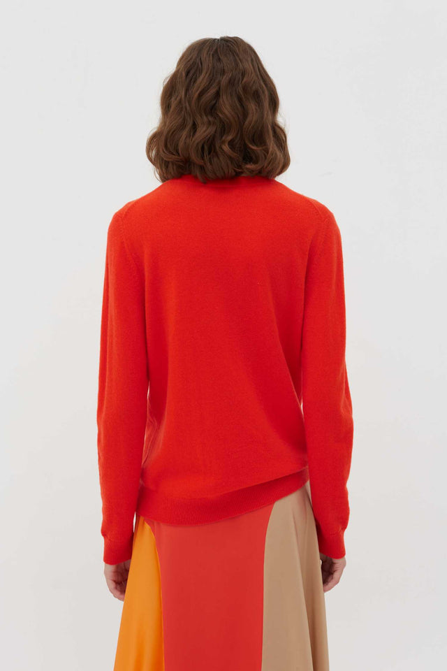 Vermillion Amore Wool-Cashmere Sweater image 4