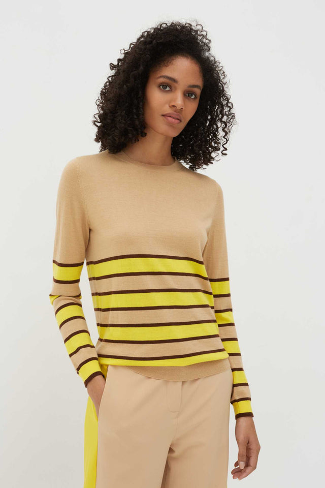 Biscotti Bands Cashmere Sweater image 1