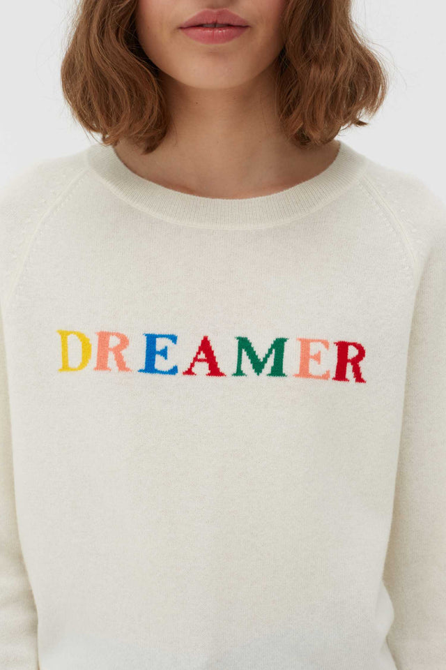 Cream Dreamer Wool-Cashmere Sweater image 4