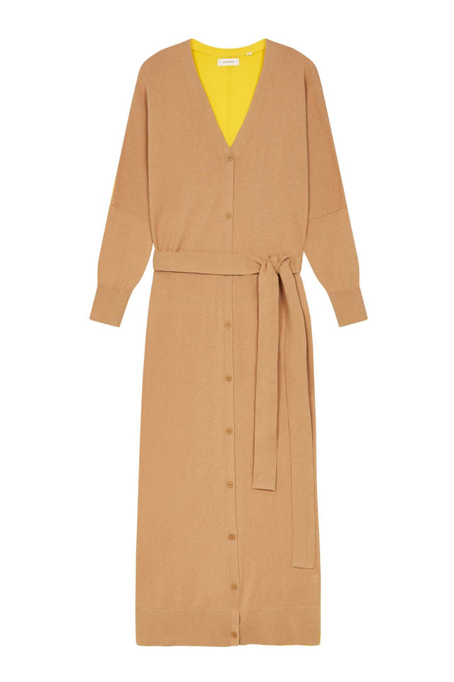 Biscotti Cotton-Cashmere Cardigan Dress image 2