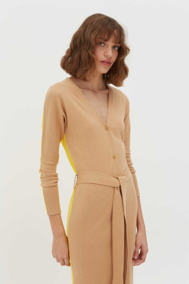 Biscotti Cotton-Cashmere Cardigan Dress image 5