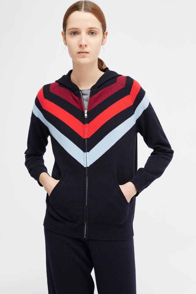 Navy Mexicano Hoodie image 3