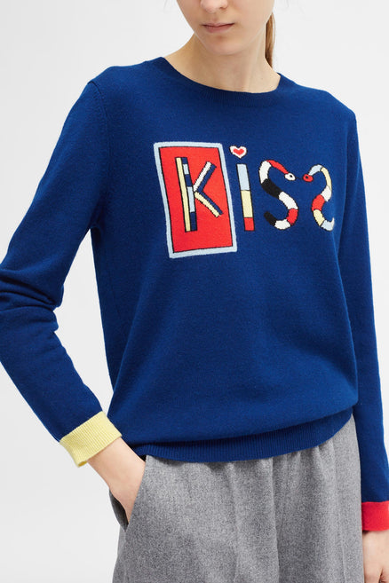 Petrol Mexican Kiss Sweater