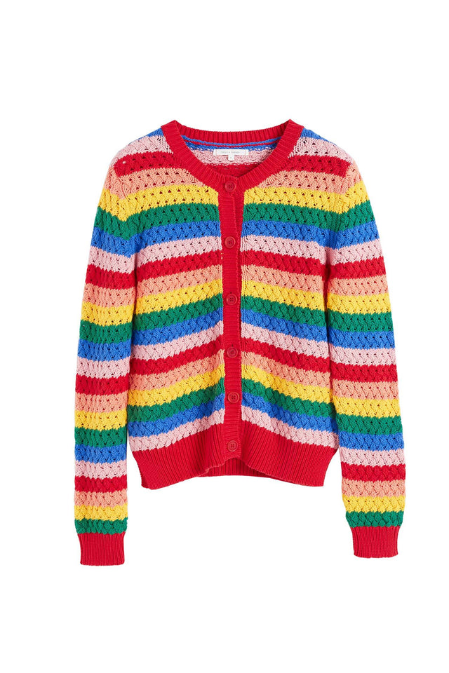 Rainbow Cotton Mirage Cardigan image 2
