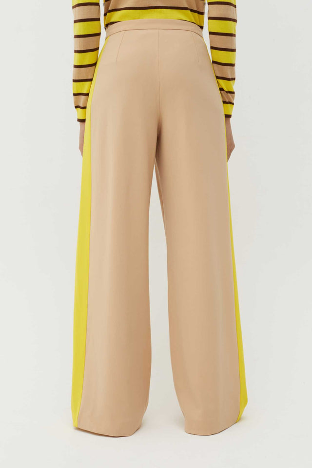 Biscotti Wool-Twill Wide-Leg Trousers image 3