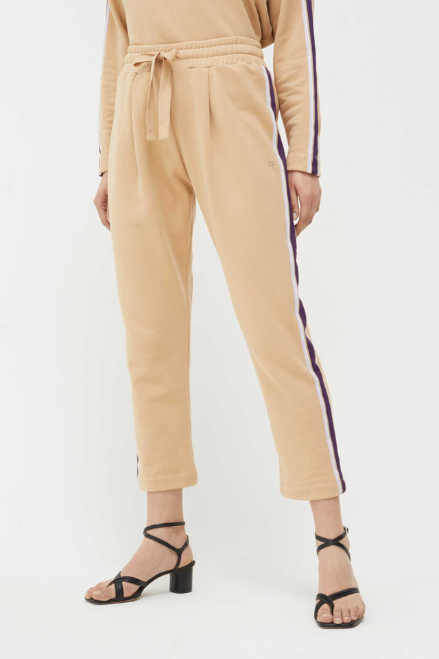 Biscotti Side Stripe Cotton Sweatpants image 1