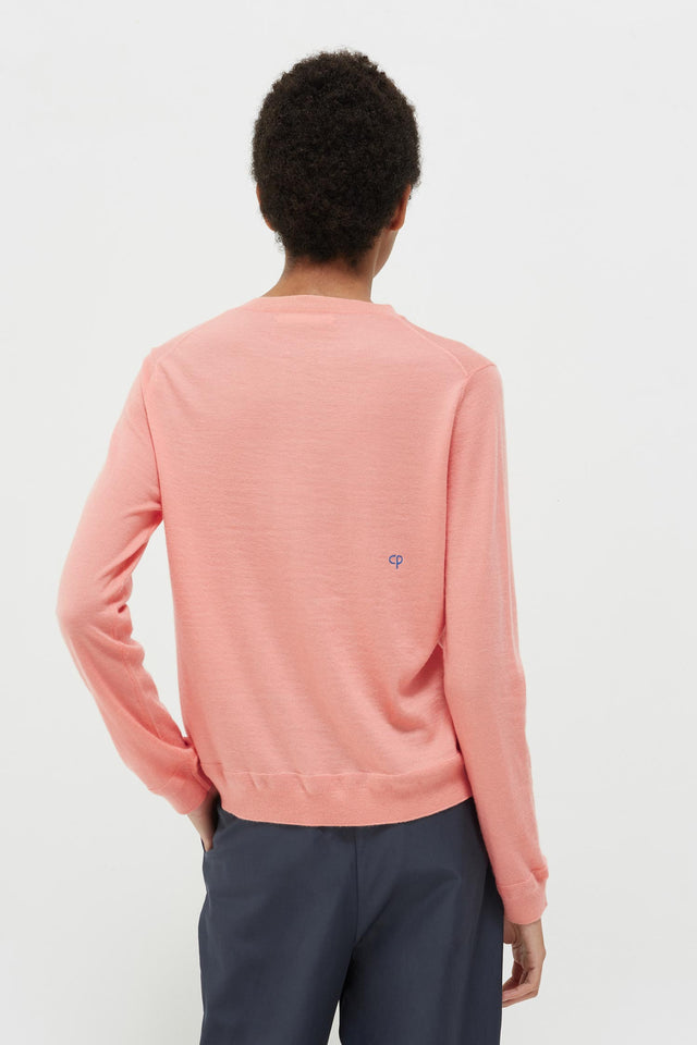 Pink Lemon Badge Cashmere Sweater image 5
