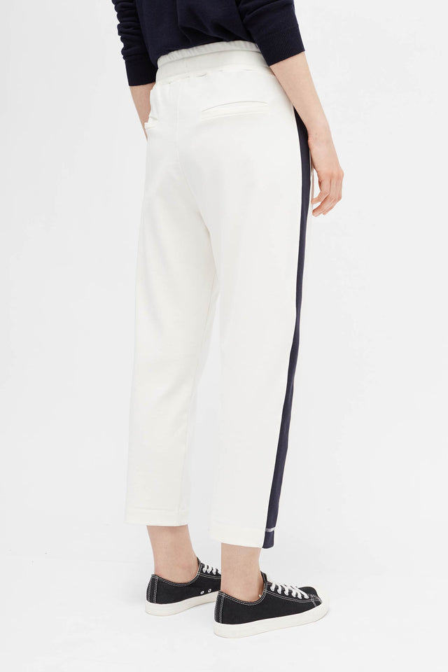 Ivory Side Panel Track Pants image 4