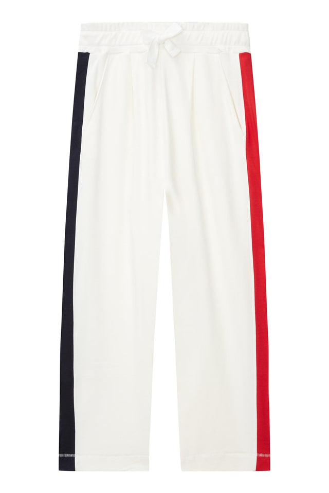 Ivory Side Panel Track Pants image 2