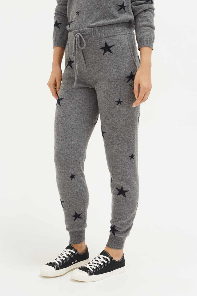 Grey Star Track Pants image 5