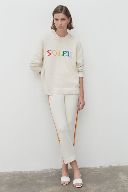 Cream Cotton Soleil Sweater