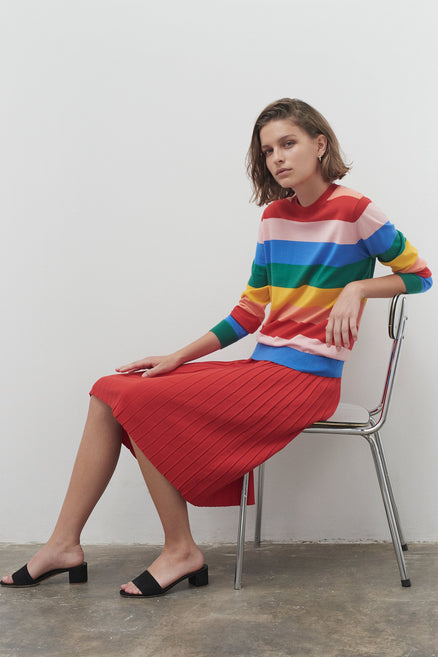 Rainbow Cashmere Day Dreamer Sweater