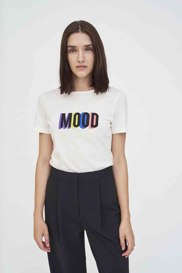 Off-White Mood Cotton T-Shirt image 1