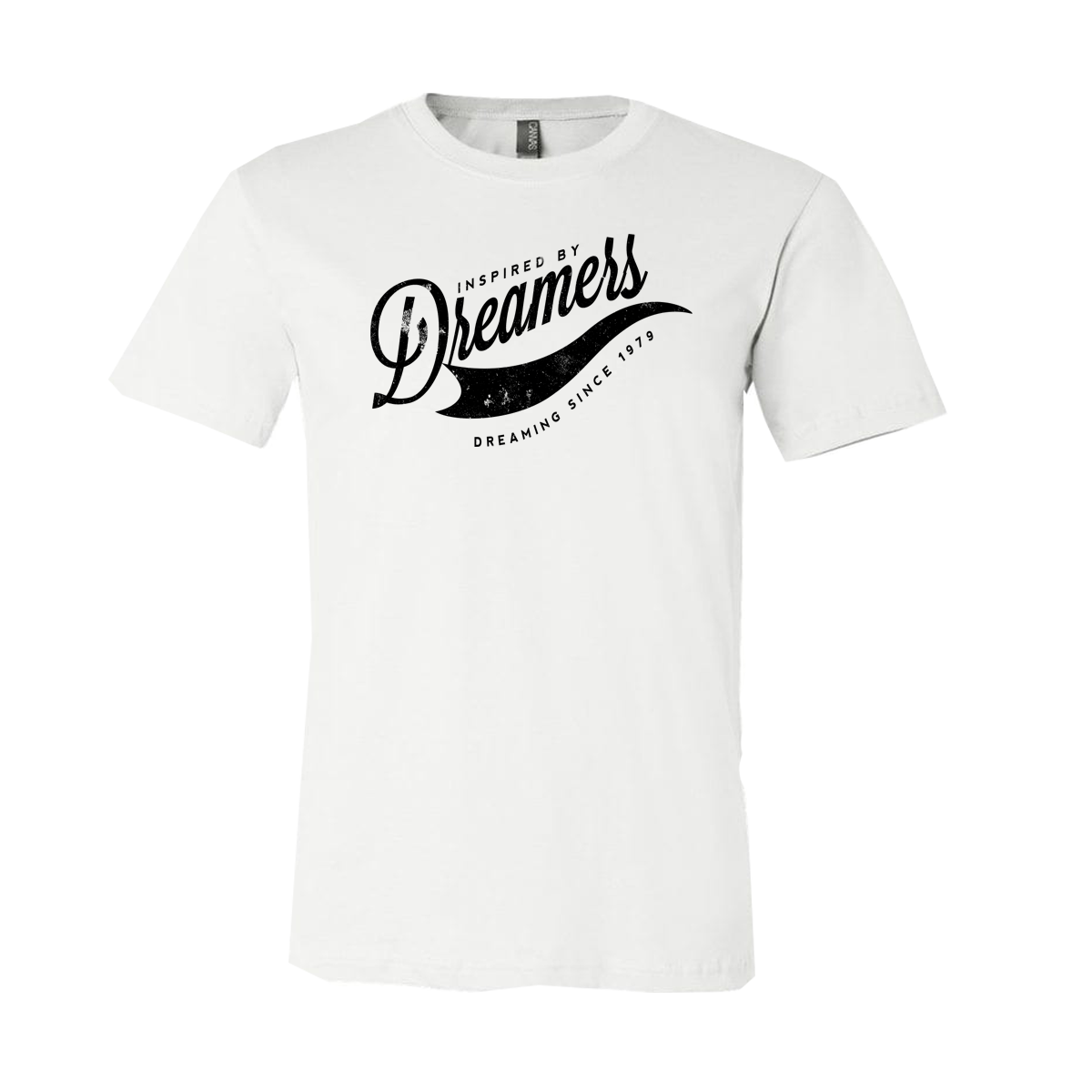 """Inspired By Dreamers"" Short-Sleeve Unisex T-Shirt White"