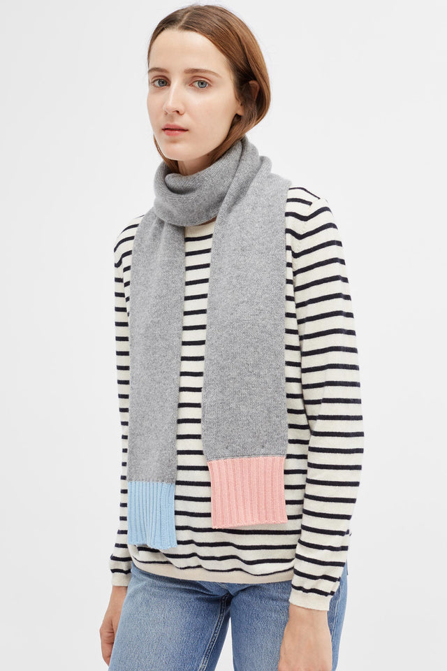 Grey Cashmere Scarf image 1