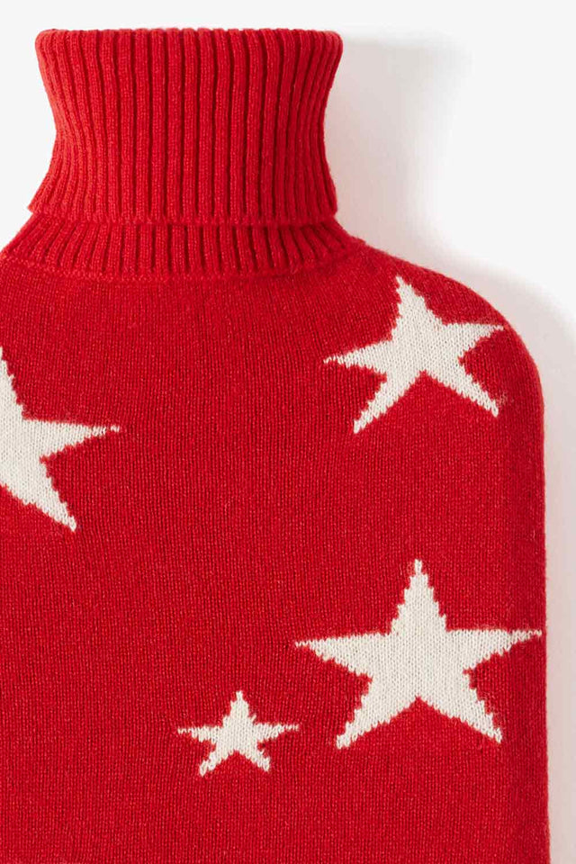 Red Star Hot Water Bottle Cover image 2