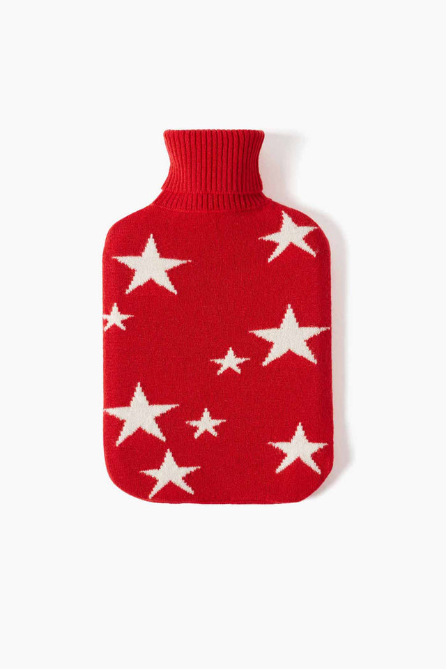 Red Star Hot Water Bottle Cover image 1
