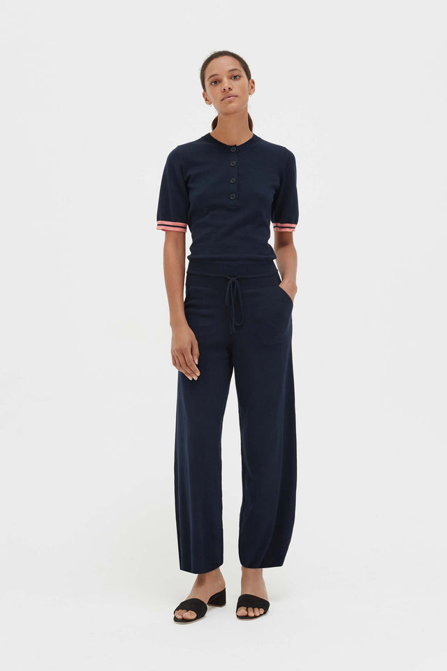 Navy Cotton Day Dreamer Jumpsuit image 1