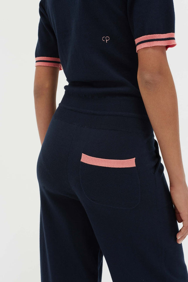 Navy Cotton Day Dreamer Jumpsuit image 3